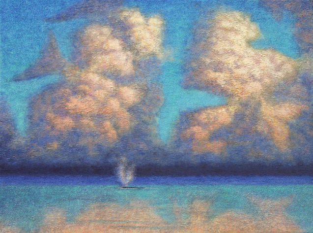 Baleen Clouds by Peter C. Stone