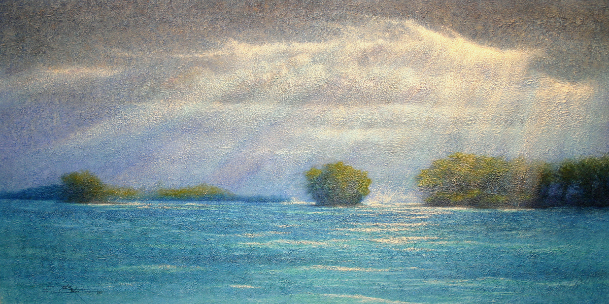 Islands, Limited Edition Giclée Print