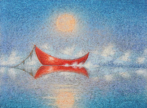 Moon Dory, Limited Edition Giclée Print