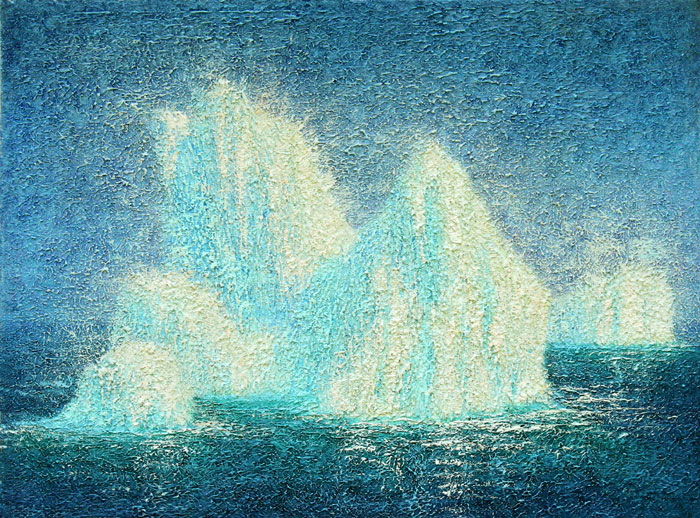 Icebergs by Peter C. Stone